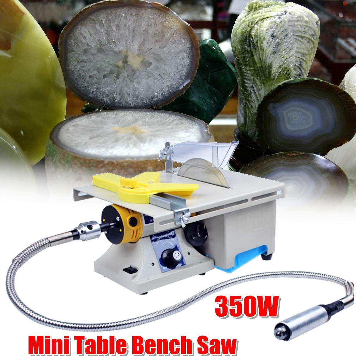 【Free Shipping + Flash Deal】350W Mini Table Bench Saw Electric Grinding Engraving Machine Jade Wood Stone Polishing Router For Bodhi Ivory Carving Polisher