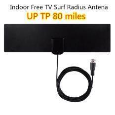 Trong Nhà TV Surf Bán Kính Antena Kỹ Thuật Số HDTV Cable Miễn Phí TV Fox Antenna DVB-T/T2 VHF UHF TVSurf Antenas Receiver