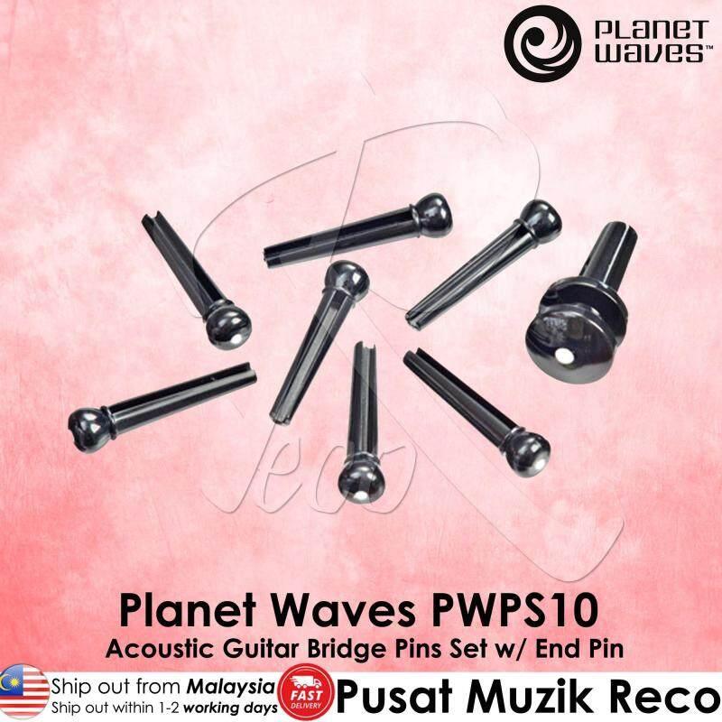 Planet Waves PWPS10 Acoustic Guitar String Pin Bridge Pins End Pin Set Malaysia