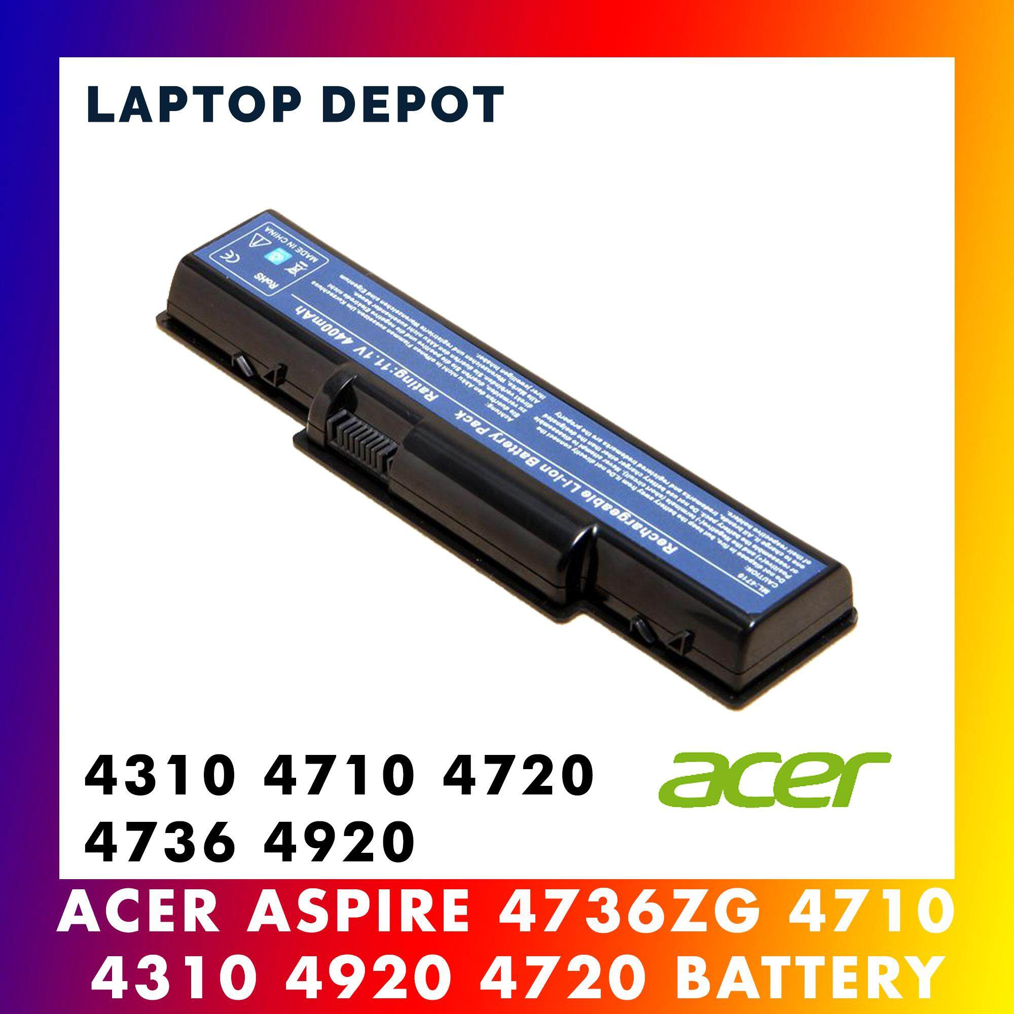 Acer Aspire 4710 4730 4732 4740 4736 4737 4935 4520 4720 4920 Laptop Battery Malaysia