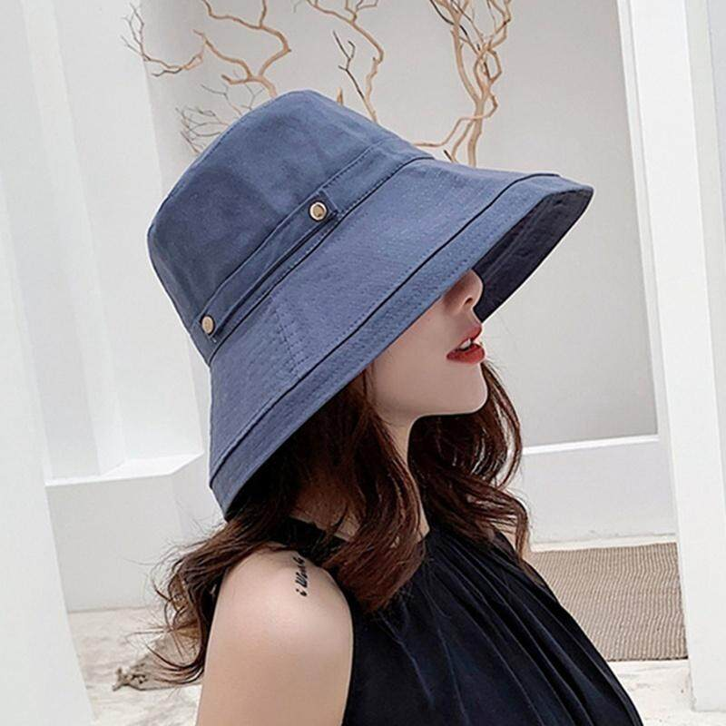 fa15dc71 New Beach Hats For Women Hat Female Lady Bucket Hat Hat Summer Woman Wide  Brim Anti