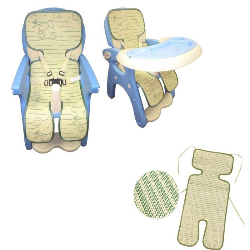 1* Summer Cool Infant Product Cute Stroller Mat Pram -Bamboo Cushion Baby Seat Pad Singapore