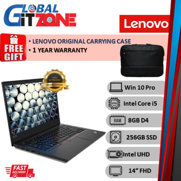 Lenovo Thinkpad E14 20RAS02000 14 FHD Laptop ( i5-10210U, 8GB, 256GB SSD, Intel, W10P ) NoteBook E14-2000 Malaysia