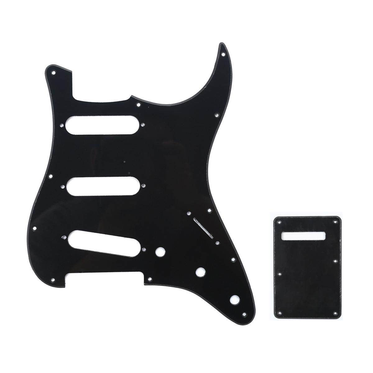 NEW GUITAR BACK PLATE FOR FENDER STRATOCASTER GUITAR CREAM PARCHMENT