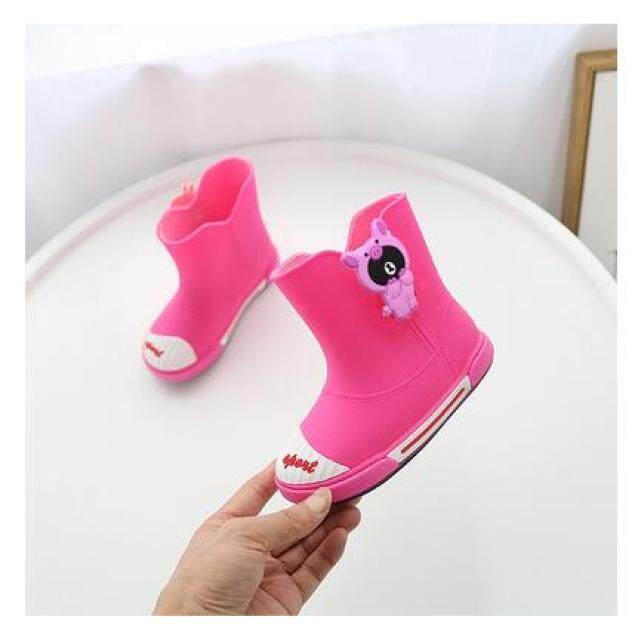 Miễn Phí Vận Chuyển Giày Dép Trẻ Em Cô Gái Khởi Động Giày Cao Su Mùa Xuân Trẻ Em Bốt Đi Mưa Bé Trai Giày Trẻ Em Giày Bé Trai 81 giá rẻ
