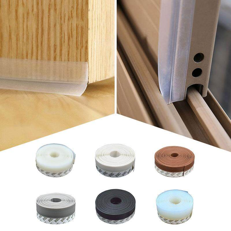 Multi-function Self Adhesive Glue Door Window Draught Dust Insect Seal Strip Soundproofing Weatherstrip