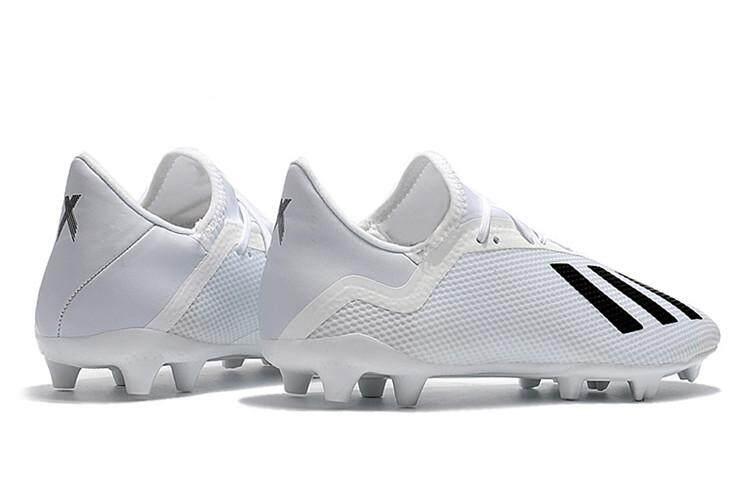 ef055e09e304 Adidas Official X18.2 FG World Cup Black White Men s Football Shoes Sport