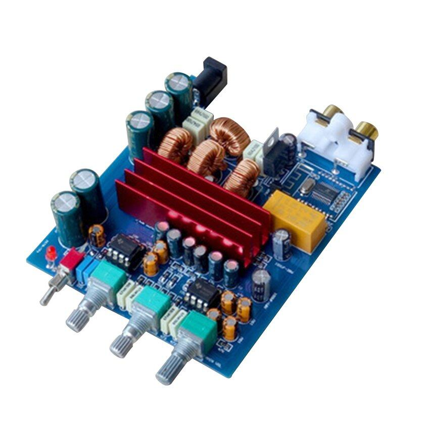 TOP (New) Protable TPA3116 BT 4.2 Amplifier Board 100W*2 TPA3116D2 2.0 Digital AMP With Preamplifier Adjust Car Home Use RCA DC24V