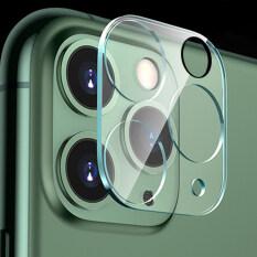 Ốp Lưng Ống Kính Máy Ảnh Yidea HONGKONG】 Bọc Hoàn Toàn Dán Bảo Vệ Trong Suốt 3D Kính Cường Lực Cho iPhone 12 11 Pro Max IPhone11 Ốp Bảo Vệ Camera Sau