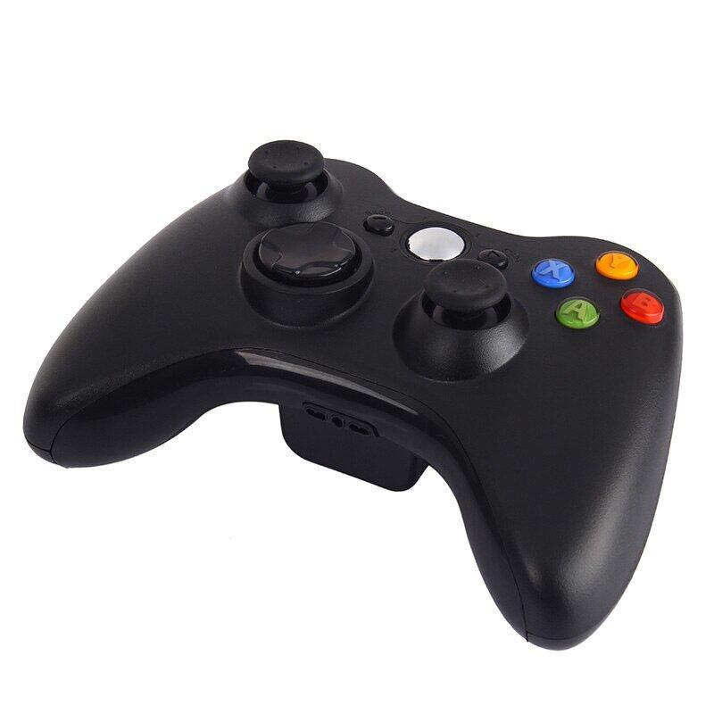 Tay Cầm Chơi Game Không Dây Kebidu 2.4GHz, Bộ Điều Khiển Cần Điều Khiển Tốt Màu Đen Chất Lượng Cao Trò Chơi Cần Điều Khiển Pad Cho Trò Chơi Xbox 360