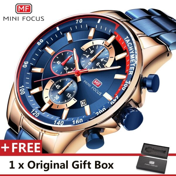 MINIFOCUS MINI FOCUS MF0218G Top Luxury Brand Watch For Man Fashion Sports Men Quartz Watches Trend Wristwatch Gift For Male jam tangan lelaki Malaysia