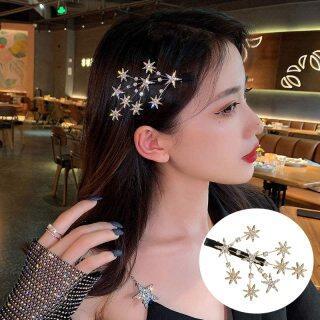 2020 Hàn Quốc Mới Ngọt Ngào Pha Lê Kẹp Tóc Mũ Nón Cho Thời Trang Nữ Cô Gái Vàng Bạc Hairgrip Phụ Kiện Tóc Barrettes Kẹp Tóc Bên thumbnail