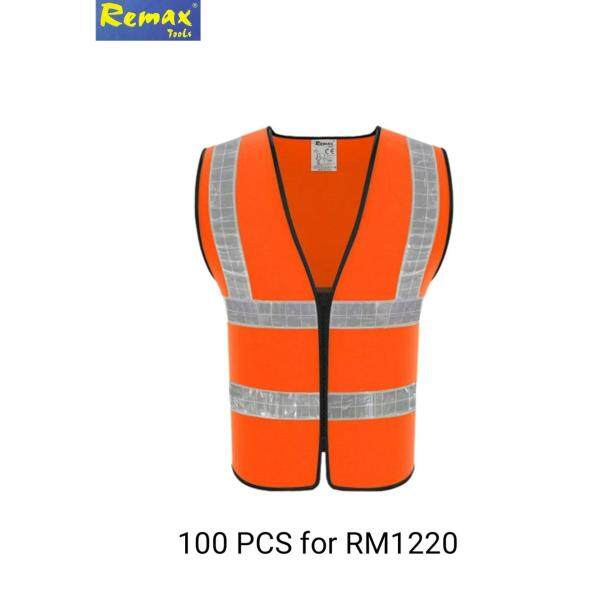 REMAX ZIPPER FRONT SAFETY REFLECTIVE VEST 99-SV102R (100 PCS)