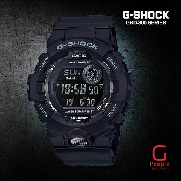 CASIO G-SHOCK GBD-800-1BDR / GBD-800-1B / GBD-800-1 / GBD-800  BLUETOOTH WATCH 100% ORIGINAL Malaysia