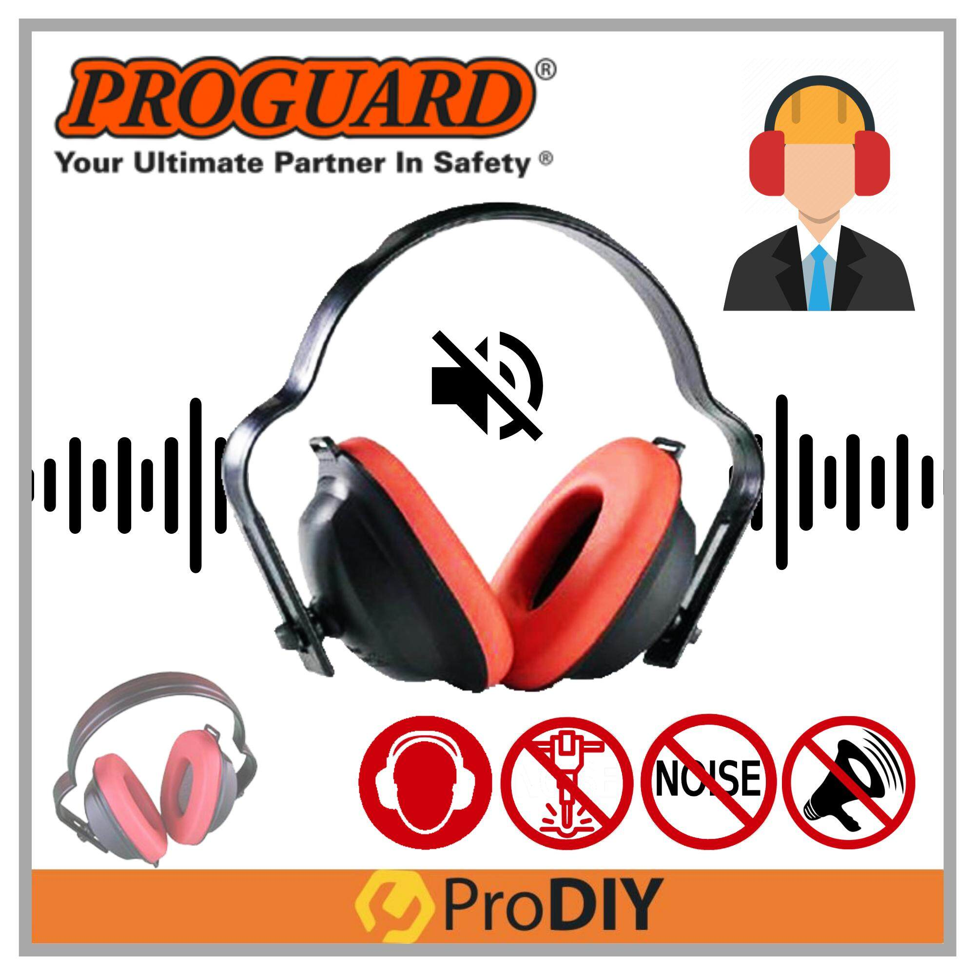 PROGUARD ECO EAR MUFF Ear Protection Ear Cover Noise Reduction Hearing Protection Safety Ear Muff