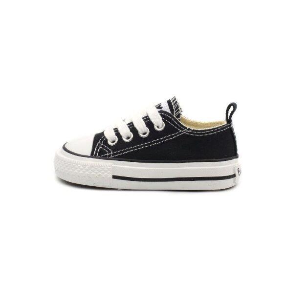 Vải Trẻ Em Giày Bé Gái Bé Trai 1-3 Tuổi Đế Mềm Giày Trắng Nhỏ Catamite Đi Bộ Đơn Giản Giày Cho Các Cô Gái giá rẻ