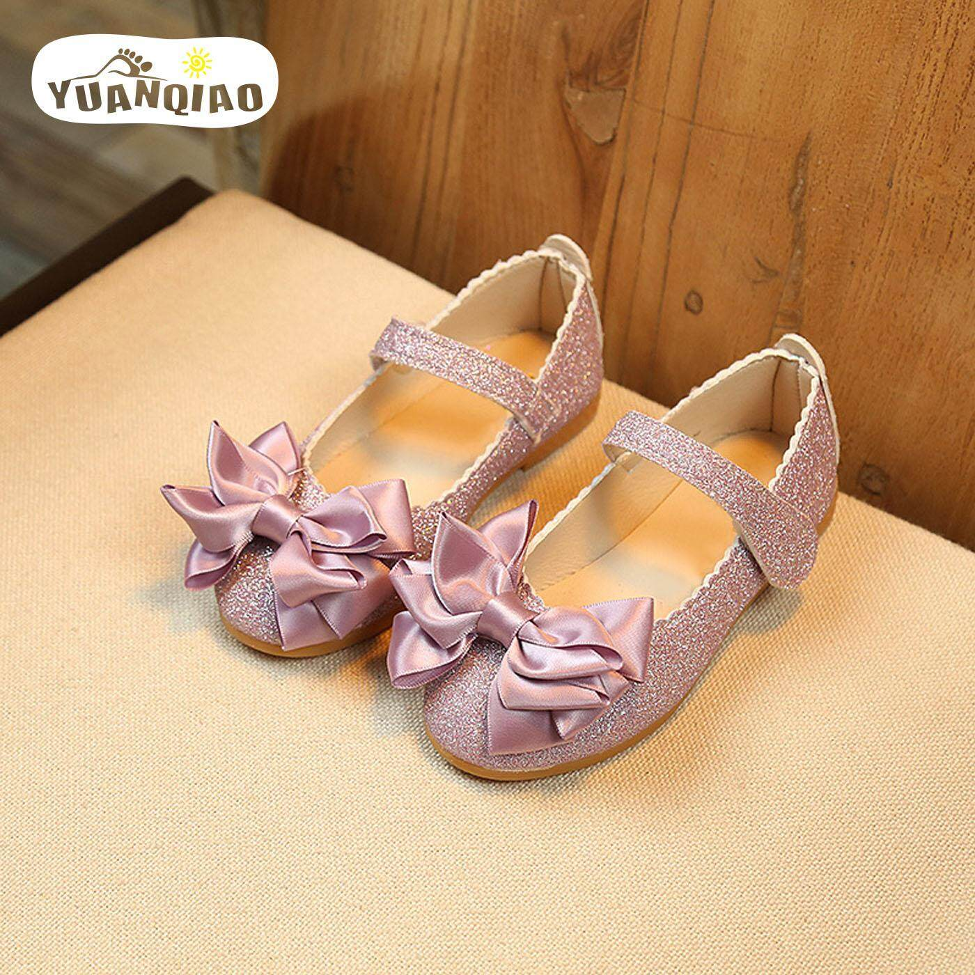64c111d4affe YUANQIAO New Kids Shoes Girls Shoes Bright Leather Sandals Princess Shoes  Girl Sandals Children Shoes