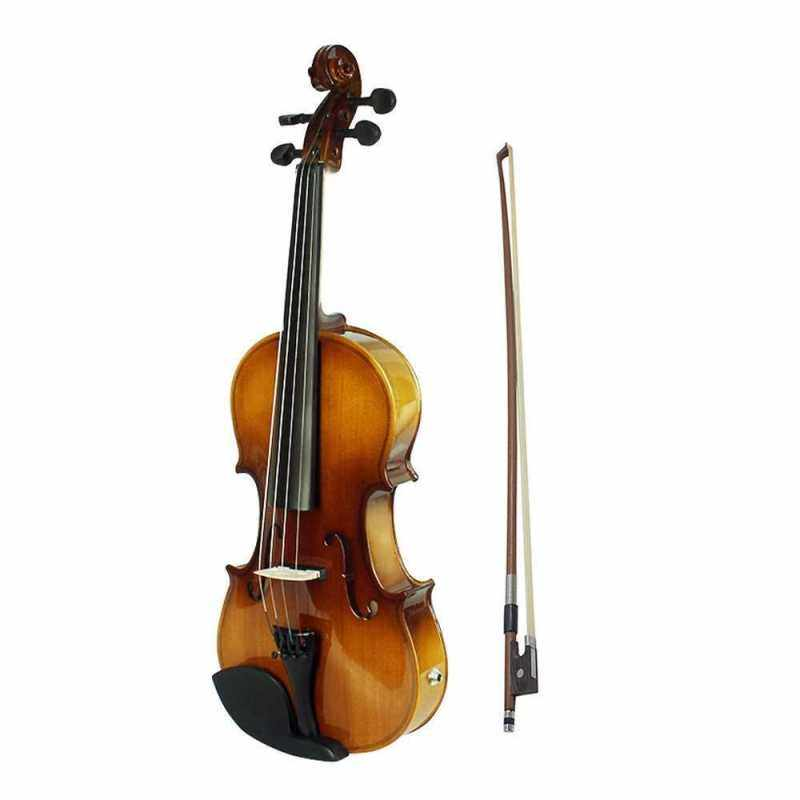 4/4 Full Size Acoustic EQ Electric Violin Fiddle Kit Malaysia