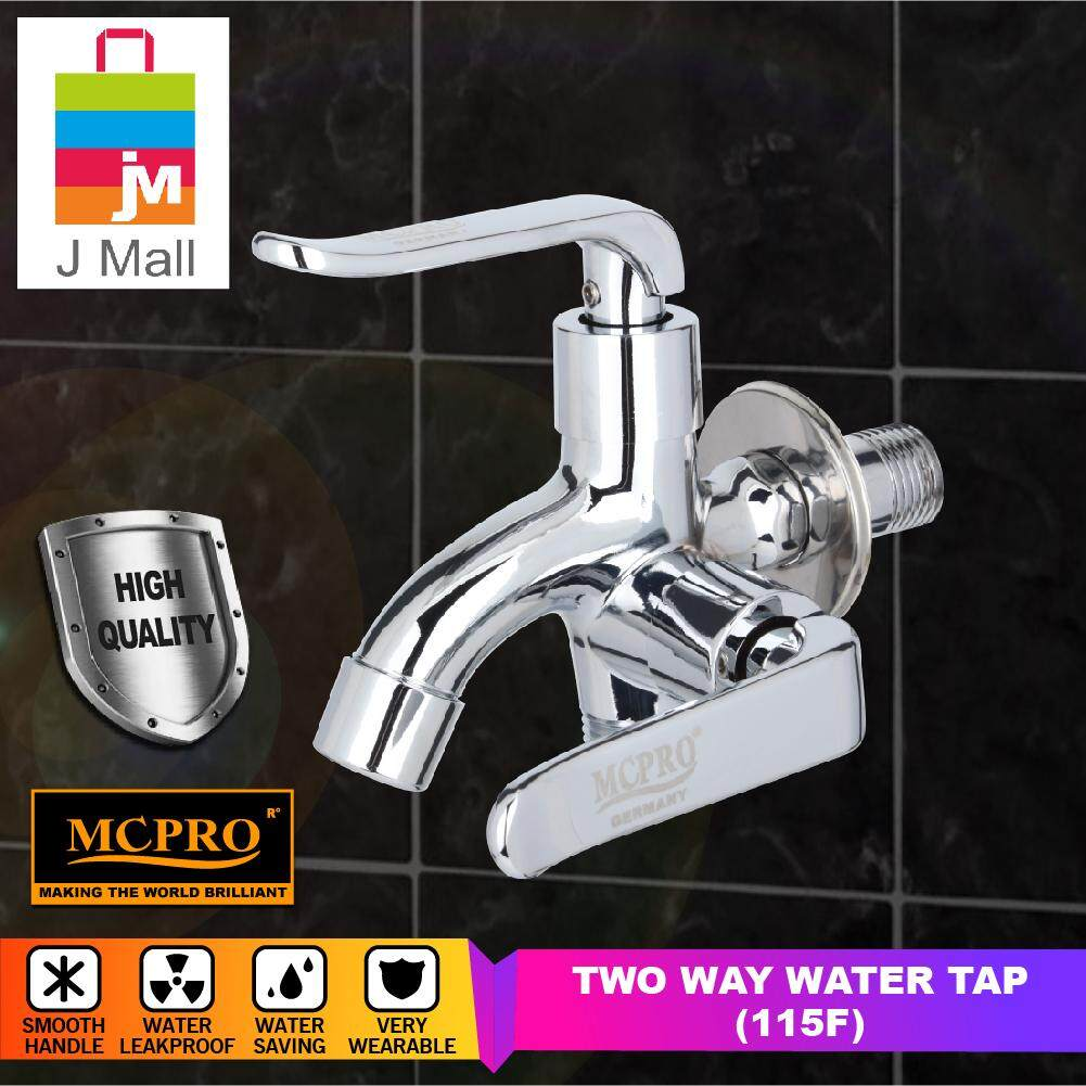 MCPRO GLOSS FINISHED WALL BATHROOM FAUCET TWO WAY TAP (115F)