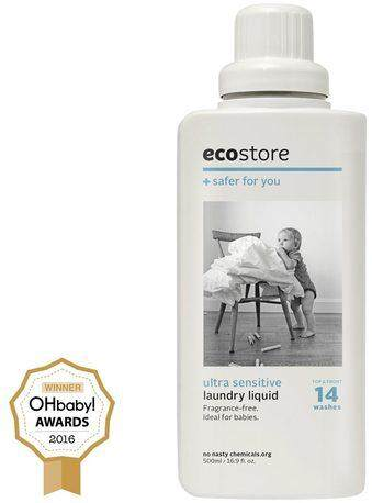 Ecostore Ultra Sensitive Laundry Liquid 500ml By Ecowellness.