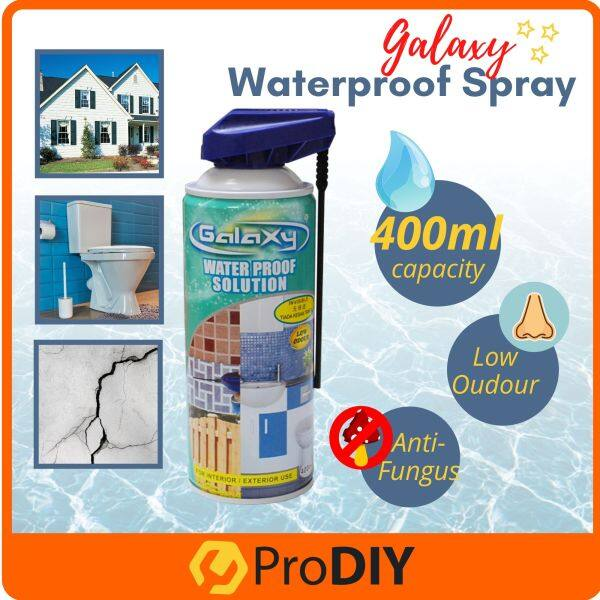 GALAXY 400ml Interior Exterior Waterproofing Spray Non-Sticky Leak Wall Toilet ( DT-50 )