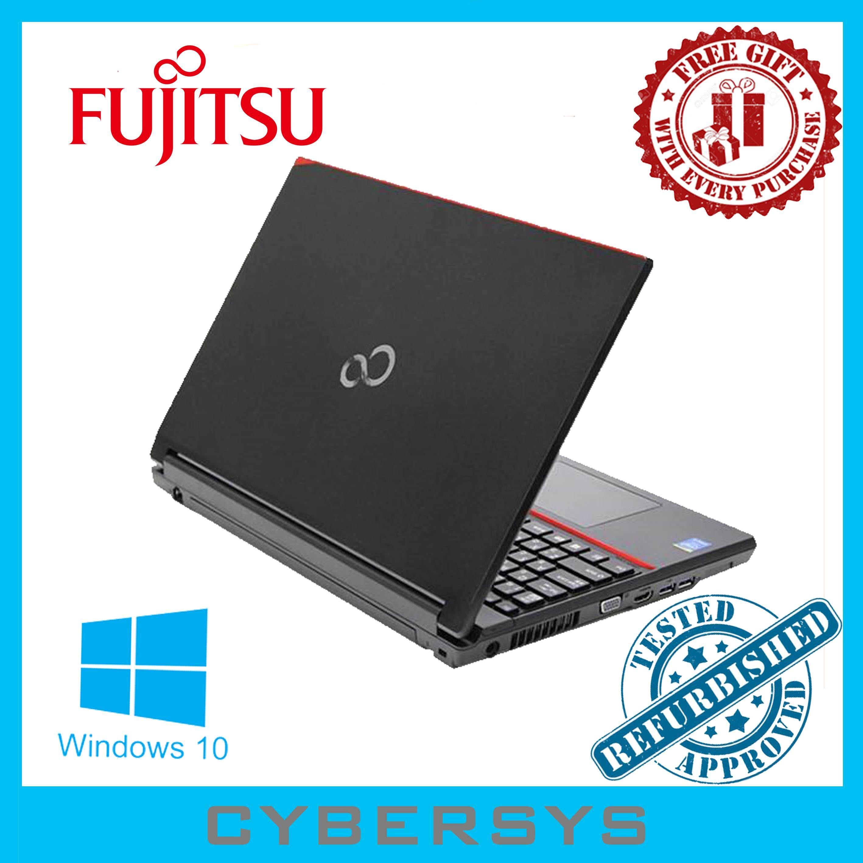 Fujitsu Lifebook Intel(R) Core i3 8GB 320GB Laptop Notebook (Refurbished) Malaysia