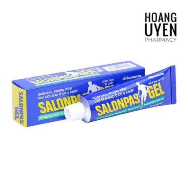 Gel bôi giảm đau Salonpas gel tube 30gr