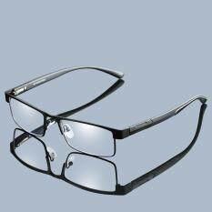 Kính phi cầu hợp kim titan cao cấp dành cho nam với thấu kính phủ lớp chống ánh sáng xanh, có thể đọc +1,00, +1.50, +2.00, +2.50 +3.00, +3.50, +4.00