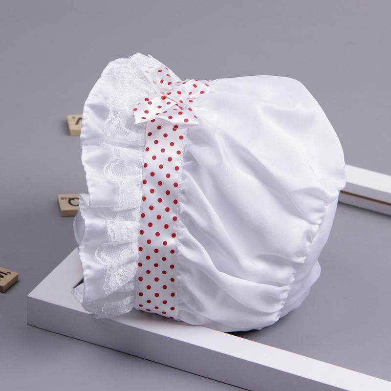 ❤️Cutiebaby Bayi Bayi Tudung Pembaptisan Ember Pantai Topi Gadis Bayi Sun Topi  Musim Panas 374148e37c