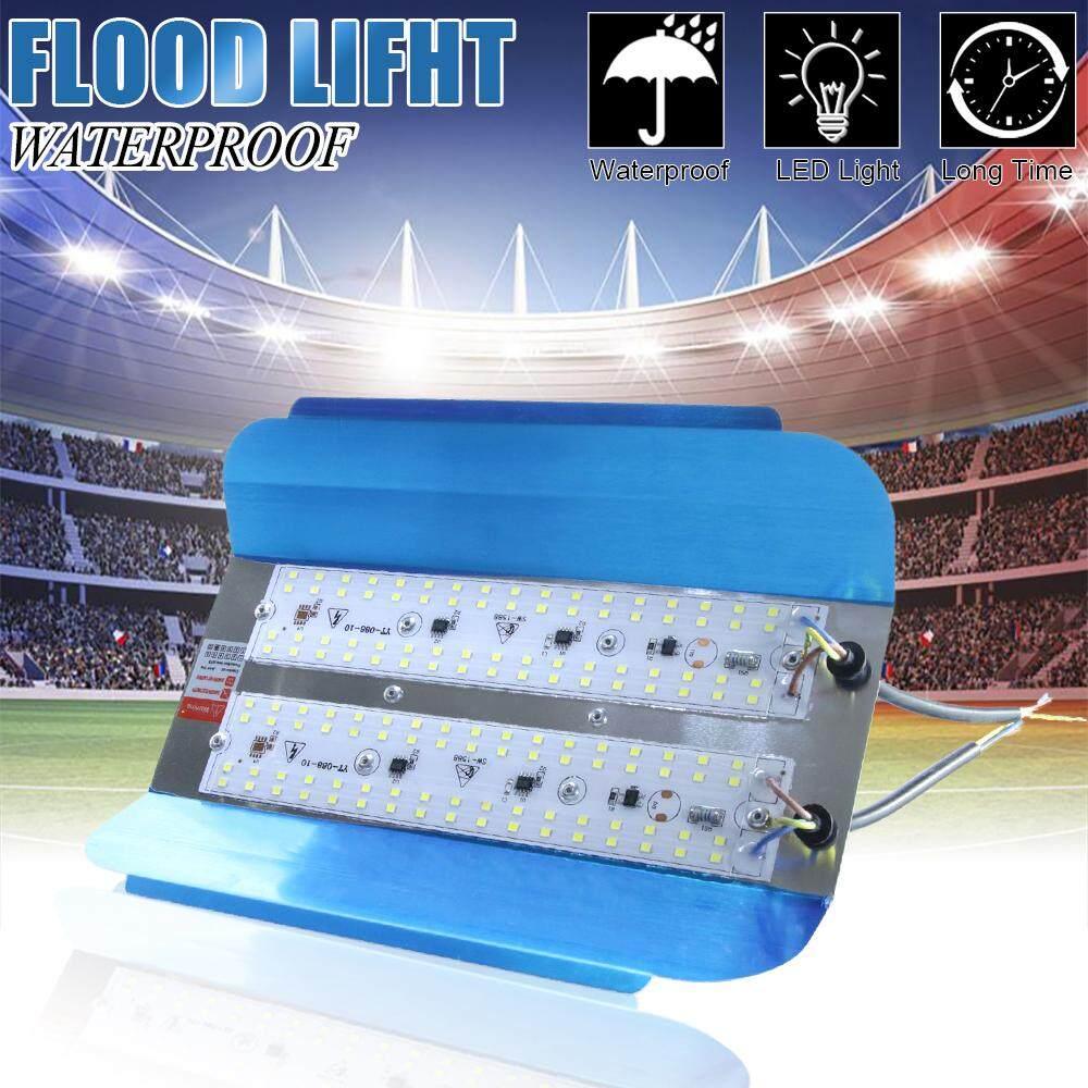 LED Flood Lights SMD 2835 96 LEDs 100W IP65 Water-proof Iodine Tungsten Halogen Lamp Floodlight 220V LED Wall Spotlight Construction Outdoor Lighting (White Light) Singapore