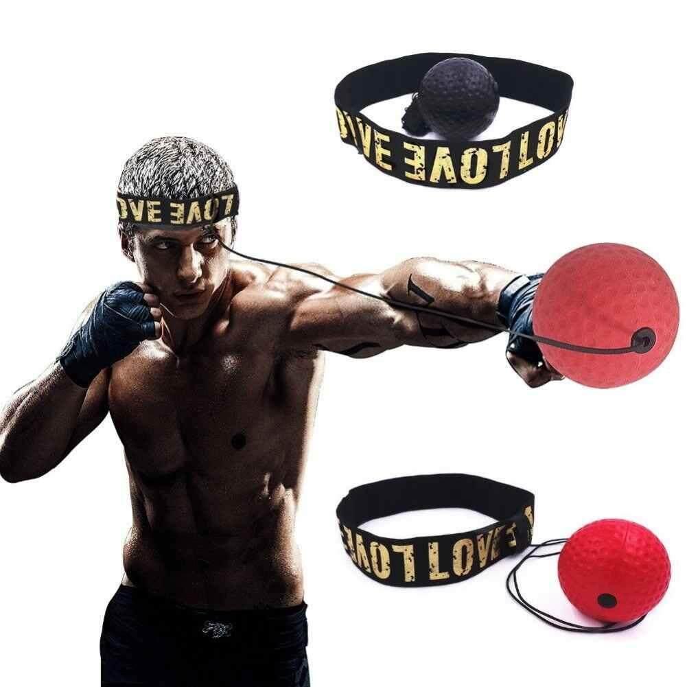 Watson Tay Mắt Huấn Luyện Bộ Gắn Đầu Boxing Phản Xạ Bóng Nuôi Lực Lượng Phản Ứng