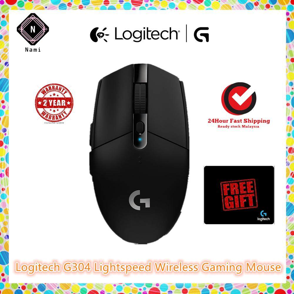 Logitech G304 Lightspeed Wireless Gaming Mouse (Hard Carton Box packing) Malaysia