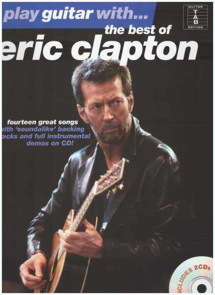 Play Guitar With... The Best Of Eric Clapton / Vocal Book / Voice Book / Guitar Book / Gitar Book / Tab Book / Gitar Tab Book / Guitar Tab Book Malaysia