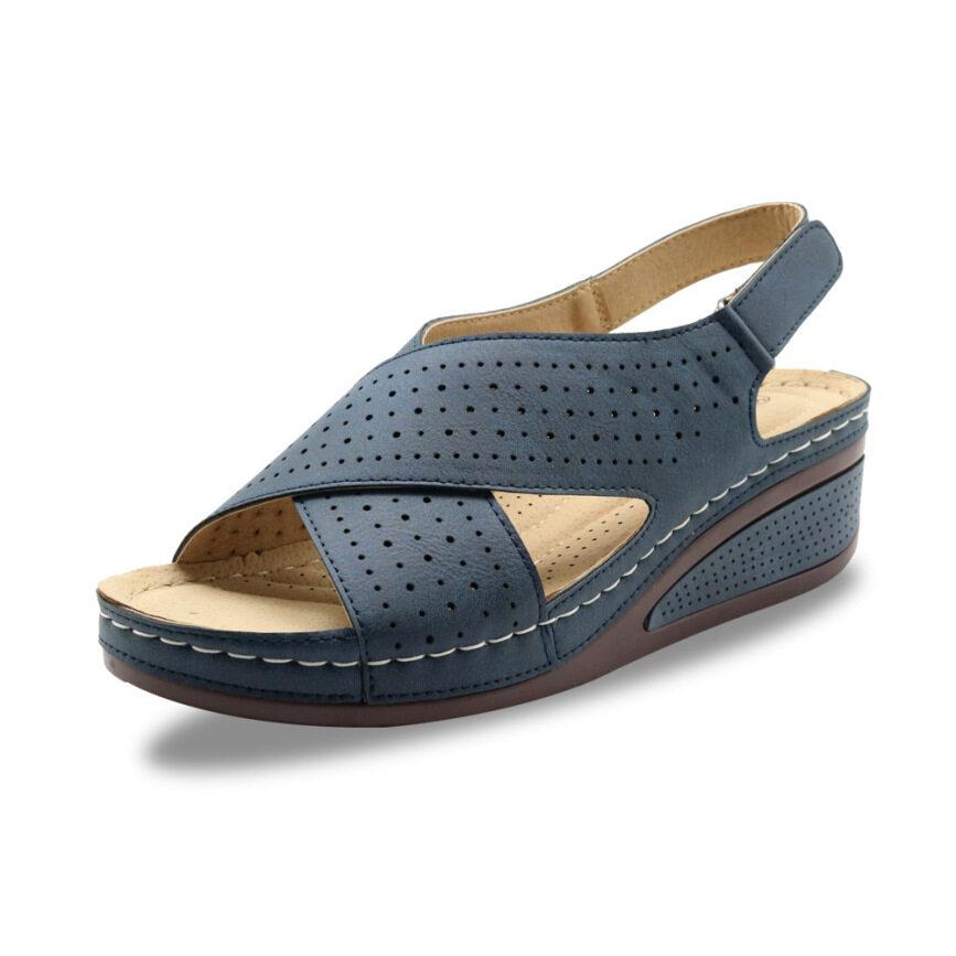 Dép Xăng Đan Đế Xuồng Cho Nữ, Giày Hở Mũi Đế Dày Màu Trơn giá rẻ