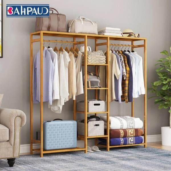 Simple Coat Rack Wooden Floor Bedroom Modern Minimalist Hanger Household Coat Rack Economical