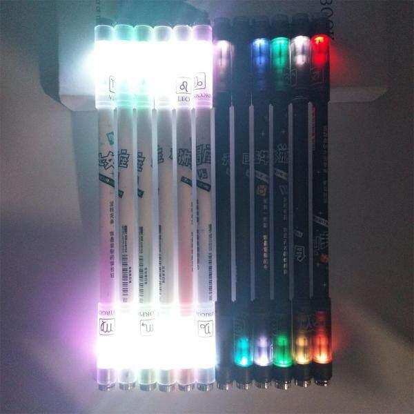Mua BOBOHOME Đèn Nhiều Màu Sắc 12 Chòm Sao Mới Lạ Dễ Thương Xoay Gel Bút, Phong Cách: Chòm Sao