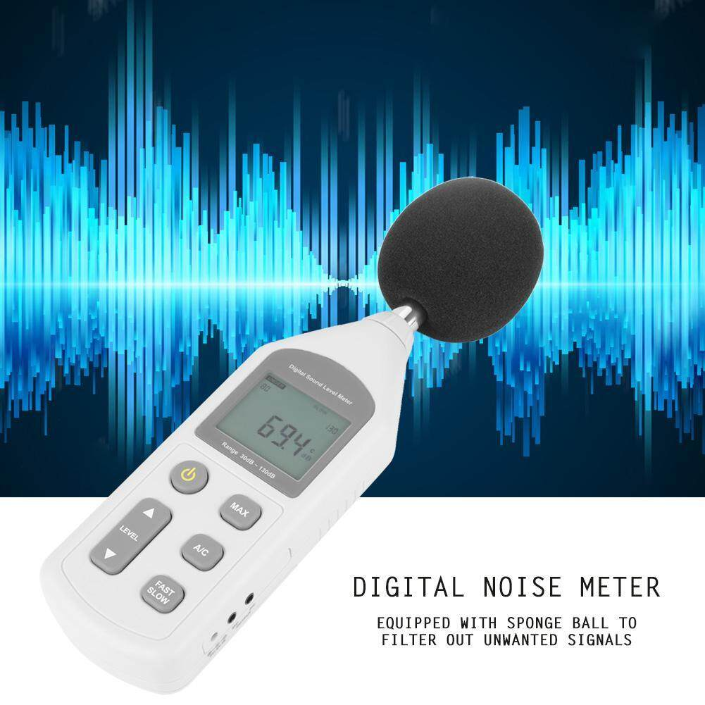 Decibel Meter Digital LCD Noise Meter Mini dh Sound Level Meter Noise Measuring Instrument GM1357 Sound Tester 30dBa~130dBA