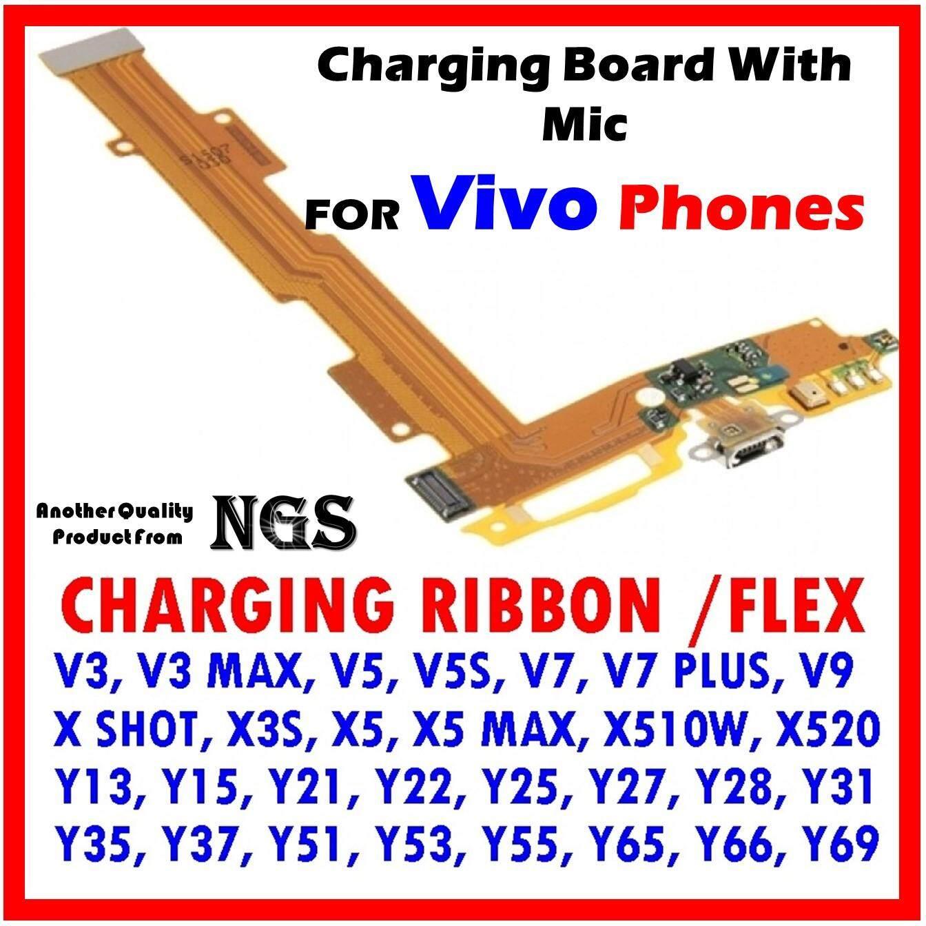 Charging Ribbon For VIVO V3 MAX V5 V7 PLUS V9 X SHOT X3S X5 X5 MAX X510W  X520 Y13 Y15 Y21 Y22 Y25 Y27 Y28 Y31 Y35 Y37 Y51 Y53 Y55 Y65 Y66 Y69 V5S
