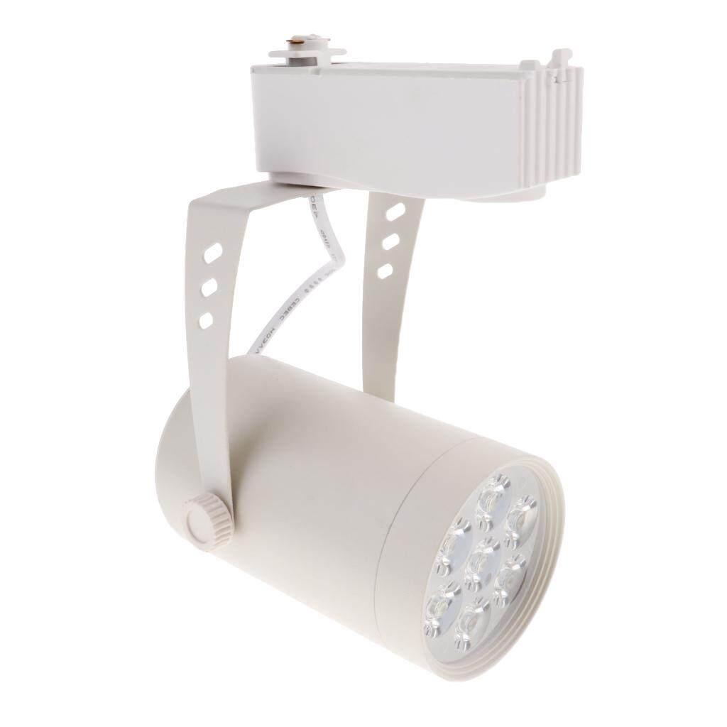 Loviver Modern 7W LED Track light Ceiling Down Lamp Spotlight White Base Pure White