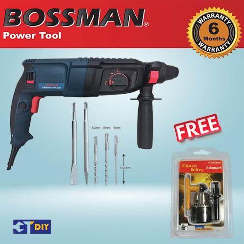 BOSSMAN Rotary Hammer Drill BGBH226 900W + FREE GIFT