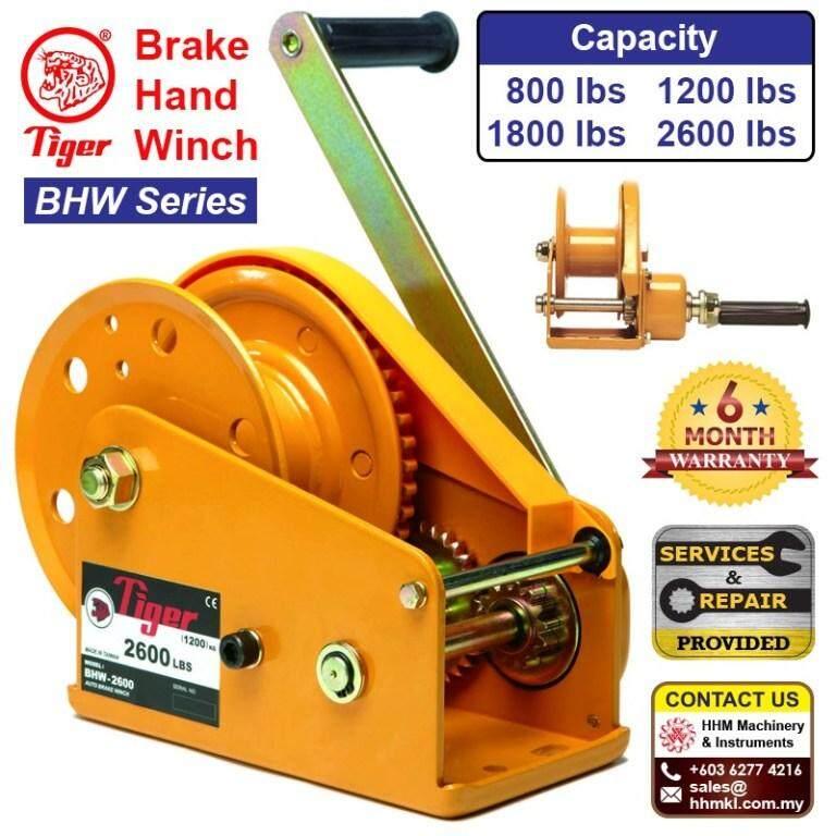 TIGER LIFTING Brake Hand Winch BHW Series BHW-800