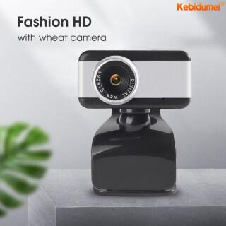 Kebidumei Webcam Mega Pixel 50M USB Kỹ Thuật Số Camera Xoay Phong Cách, Camera Web HD Có Kẹp Micro Cho PC Máy Tính Xách Tay Máy Tính Xách Tay Máy Tính thumbnail