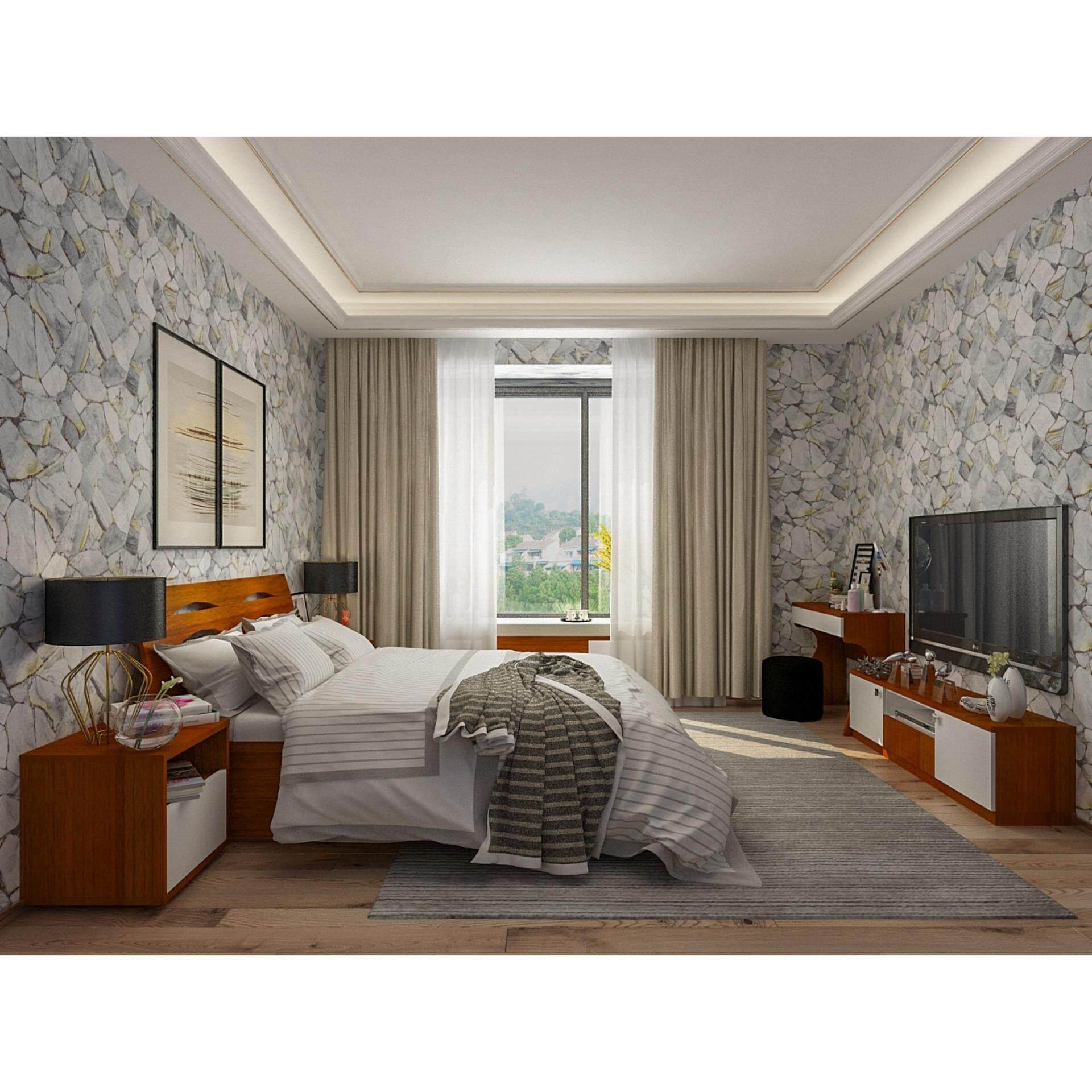 3D Stone Premium Korea Wallpaper Natural-II 87028-2