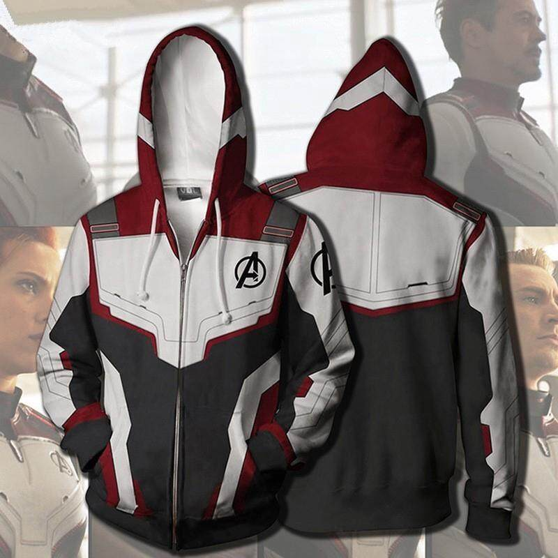 8c5cf88583 3D The Avengers 4 Printed Hoody Casual Jackets Sweatshirts