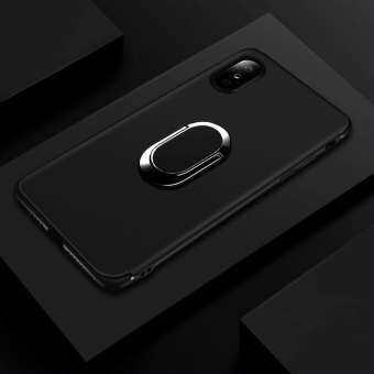 IPhone XS MAX Case, Luxury ปลอกซิลิโคนโลหะที่วางแหวนแม่เหล็กเคสใส่โทรศัพท์