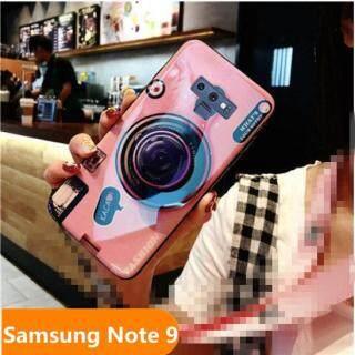 Zeallion Cho [Samsung Galaxy Note 9] Giá Đỡ Silicon Mềm Họa Tiết Máy Ảnh Blu-ray Ốp Điện Thoại thumbnail