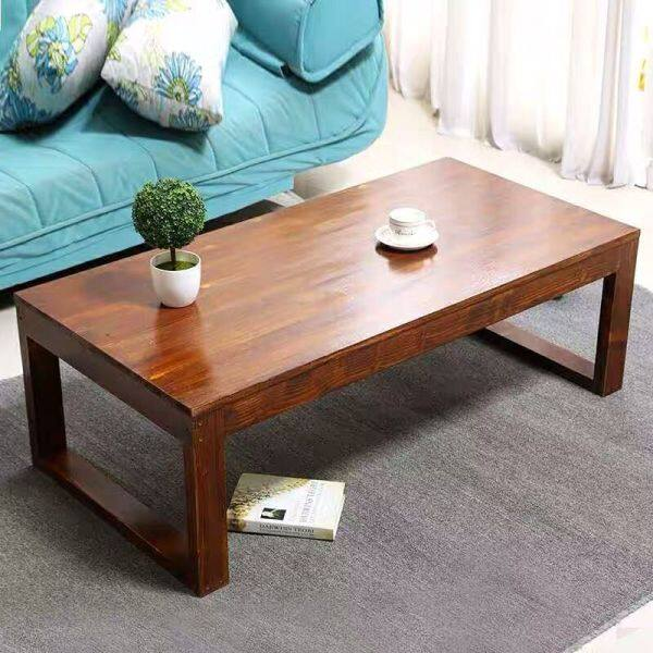 Minimalist Modern Teapoy Table Solid Wood Living Room Personalized & Creative Teapoy Table Fashion Simple Small Small Tea Table