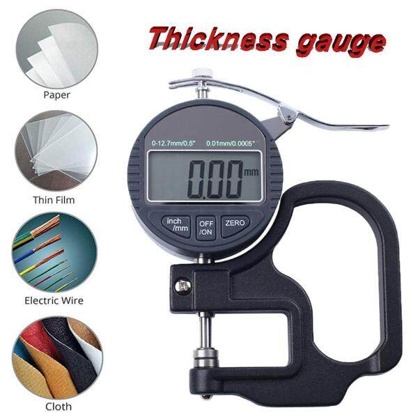 Wo Bang Digital Thickness Gauge Thickness Meter Precise Electronic with LCD Display