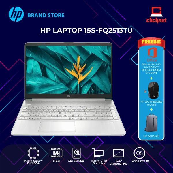 HP 15S-FQ2513TU (Intel Core I3-1115G4 ,8GB, 512GB SSD, 15.6HD, Win 10,H&S ,2 Years) Malaysia