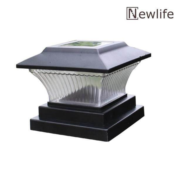 [Miễn Phí Vận Chuyển + Giá Xuất Xưởng] Đèn Trụ LED Năng Lượng Mặt Trời Đèn Hàng Rào Vườn Ngoài Trời Đèn Chiếu Hậu Sân Vườn